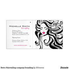 Retro Hairstyling company branding Binder