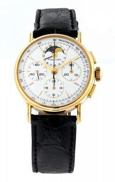 Philip Watch ChronographExpertise vorhanden. Chronograph von Philip Watch in 18 kt Gold, Durchmesser