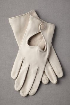 Heart cut-out gloves