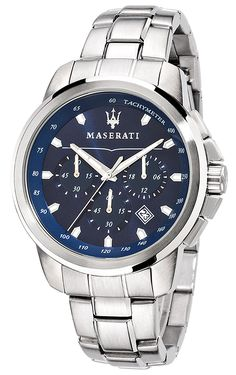 Buy MASERATI R8873621002 Successo Chronograph Mens Watch now from uhrcenter Watch Shop. ✓Official Maserati Stockist!