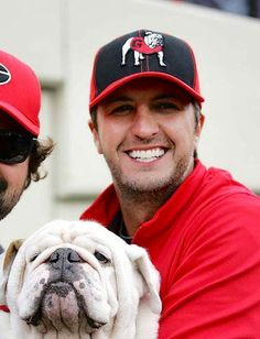 Luke Bryan... Gorgeous and a Georgia fan!  What more could a girl want!!