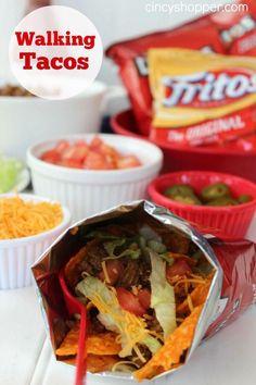 Walking Tacos Recipe #Food #Drink #Trusper #Tip