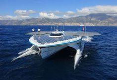solar powered boat