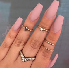 Pink is all I see #Nails