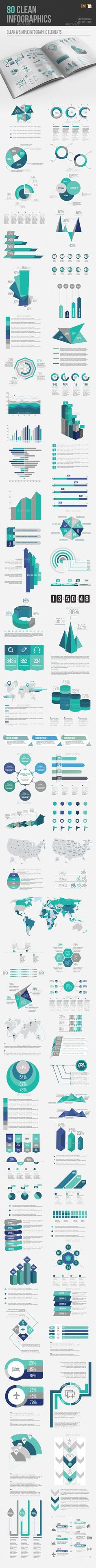 Infographic Element Templates Vector EPS, AI Illustrator. Download here: https://graphicriver.net/item/infographic-elements/17376832?ref=ksioks