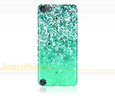 Glitter Sparkle iPod Touch 5 case Glitter by DesigneriPhoneCase