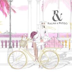 Fairy Wallpaper, Disney Wallpaper, Megan Hess Illustration, Graphic Illustration, World Art Day, Bicycle Wallpaper, Ralph And Russo, Bicycle Art, Fashion Wall Art