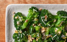 This easy, flavorful cooking method for broccoli would work equally well with asparagus or broccoli rabe. Salting the water generously is key to delicious results; the water should taste almost as salty as seawater.