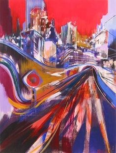 Leandro Manzo The Tunnel 20 x 26.5 in