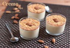 Crème dessert au miel (sans oeufs)
