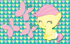 my little pony babies | Baby Fluttershy, aww!, isn't she cute?!