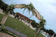 Ingresso Piscina Matrimonio - Pool entrance Wedding #wedding #decoration #flower #weddingplanner #party #ceremony #masseriacordadilana