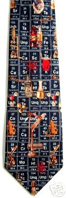 Periodic table tie by wild ties ties pinterest urtaz Choice Image