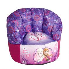 One Of My Favorite Discoveries At ChristmasTreeShops DisneyR Frozen Bean Bag Chair