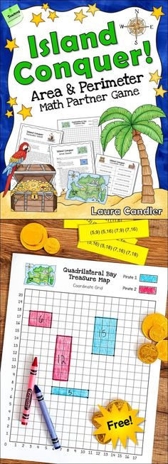 Math Mentor Text Perimeter, Area, and Volume-great hook for a - free printable grid paper for math