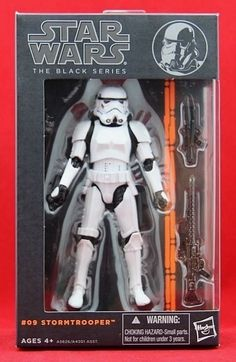 "Stormtrooper Star Wars The Black Series Authentic Hasbro 6"" Action Figure NIB #Hasbro"
