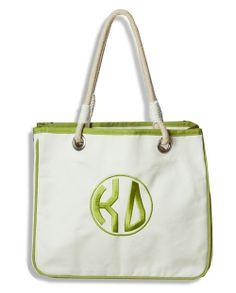 Kappa Delta Rope Tote www.sassysorority.com #sorority #KD