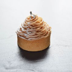 My Mont Blanc for the season. Nothing innovative really but does it have to be? Love this little pastry: orange marmalade creme fraiche mousse orange meringue chestnut paste @chef_scottgreen #pastry #pastrytakover #hohoho by butterloveandhardwork