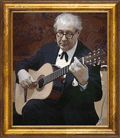 Andrés Segovia Torres (February 1893 – June known as Andrés… Classical Guitar Lessons, Classical Music Composers, Classical Guitars, Jazz Guitar, Guitar Songs, Guitar Art, Music Images, Music Theory, Beautiful Songs