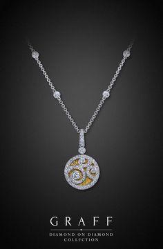 Graff Diamonds: Diamond on Diamond Pendant