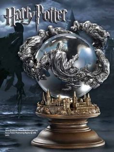 Dementor Crystal Ball Prop Replica from Harry Potter and The Prisoner of Azkaban. It is made by Noble Collection and is approximately 17 cm (6.7 in) high  http://harry-potter.minimodelfilmstuff.co.uk/harry-potter-collectable/harry-potter-and-the-prisoner-of-azkaban-dementor-crystal-ball-noble-collection-nn7062