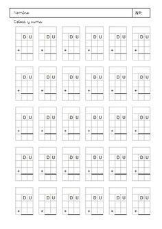 """Sarah García nos remite una plantilla para colocar números y crear sumas y restas de dos dígitos en el algoritmo tradicional. La plantilla está en formato """"xls"""" por lo que puede ser fácilmente editable y adaptada a tus necesidades. Si compartes este material: Nuestro material está bajo licencia Creative Commons …"""