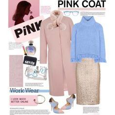 Work Wear - Pretty Pink Coat