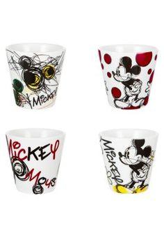 Disney - MICKEY MOUSE - PACK OF 4 - Servicesæt - flerfarvet