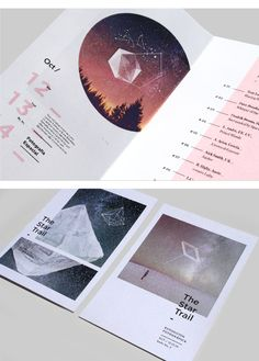 Layout design / Cósmico_ on Behance