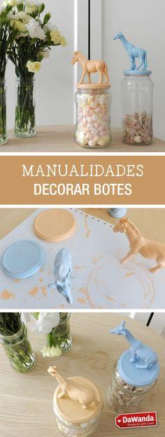 Tutorial DIY - CÓMO HACER BOTES DECORADOS CON FIGURAS en DaWanda.es