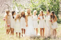 Bruidsmeisjes in witte jurkjes: do or don't?