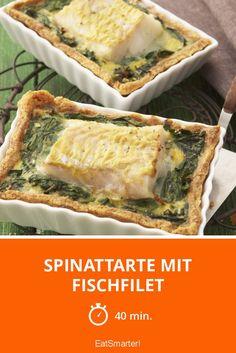 Spinattarte mit Fischfilet - smarter - Zeit: 40 Min.   eatsmarter.de