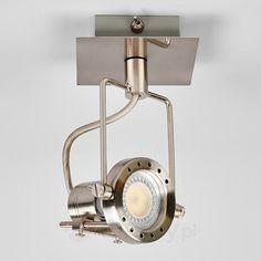 Spot LED AGIDIO, nikiel satynowany bezpieczne & wygodne zakupy w sklepie internetowym Lampy.pl.