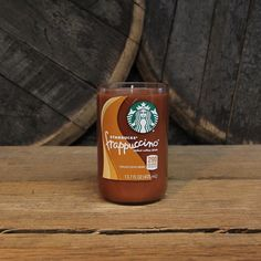 Upcycled Starbuck's Frappuccino Candle  Recycled by ReWickedCandle
