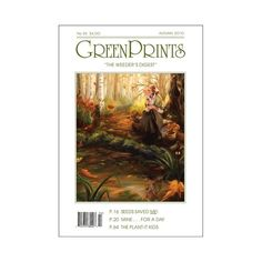 This #ThrowbackThursday cover is from GreenPrints' 2010 Autumn edition! #Gardening #HomeAndGarden #GreenThumb #GreenPrints