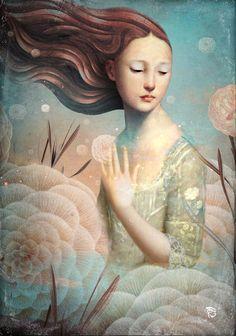 """Hannah "" Digital Art by Christian Schloe buy now as poster, art print and greeting card. Art And Illustration, Modern Art, Contemporary Art, Illustrator, Magic Realism, Inspiration Art, Pop Surrealism, Wassily Kandinsky, Surreal Art"