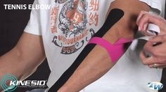 Shantel Beckers from Body Centered Therapy demonstrates taping with Kinesio Tex