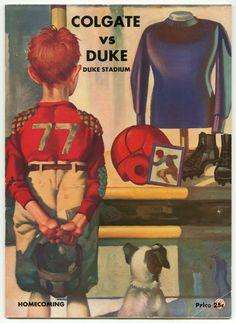Duke v. Colgate Homecoming Game Program, 1936. Duke University Archives