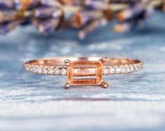 HANDMADE RINGS & BRIDAL SETS by MoissaniteRings on Etsy Bridal Ring Sets, Handmade Rings, Gold Rings, Rose Gold, Engagement Rings, Etsy, Jewelry, Enagement Rings, Jewels