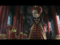 """Someone has stolen my tarts ..."" from Tim Burton & Disney's Alice in Wonderland, youtube, Disney UK"