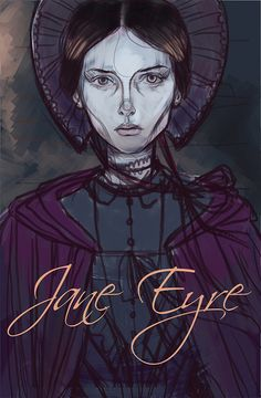 Jane Eyre. probably not a real book cover, but it would be so cool if it was!!