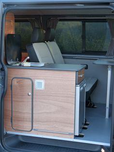 Transit Camper, T5 Camper, Vw T5, Caravelle Vw, Rock And Roll Bed, Van Vw, Camper Van Life, Minivan Camping, Camper Van Conversion Diy