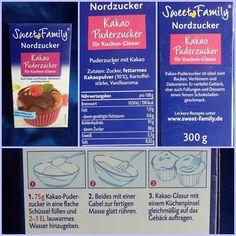 Der Kakao-Puderzucker von SweetFamily (Nordzucker) – Schnell und vielfältig in der Anwendung | Mirellas Testparadies