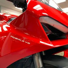 The twin-cylinder Panigale has been given a thorough makeover. Renamed the Panigale V2, it takes a totally new design, it features sophisticated electronics based on a 6-axis inertial platform and, thanks to a more comfortable rider seat and the suspension set-up, offers better yet safer sports performance while making road riding more enjoyable and user-friendly than ever. Ducati Motorcycles, New Model, Twin, Platform, Electronics, Car, Sports, Design, Motorbikes