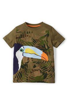 Mini Boden 'Summer' Appliqué T-Shirt (Toddler Boys, Little Boys & Big Boys) available at #Nordstrom