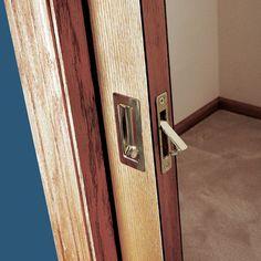 I love these doors. They are SO convenient! Pocket Door Installation - How to Install Pocket Doors - Popular Mechanics Door Installation, Home, Interior, Home Diy, Pocket Door Installation, Diy Door, Doors, Home Decor, Pocket Doors