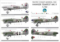 Dave Homewood uploaded this image to 'Armistice/Tempest Kit'. See the album on Photobucket. Fighter Pilot, Fighter Jets, Hawker Tempest, Hawker Typhoon, Ww2 Aircraft, Luftwaffe, Pacific Coast, House In The Woods, Great Britain