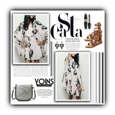 """""""Yoins"""" by water-polo ❤ liked on Polyvore featuring mode, Lulu Frost, Max Factor, polyvoreeditorial et yoins"""