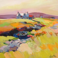 Pam Carter: The Fishermans Croft 20 (Skye Exhibition 2013)