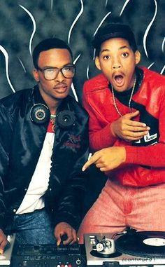 Hip hop duo D. Jazzy Jeff & the Fresh Prince Mode Hip Hop, Hip Hop And R&b, Hip Hop Rap, Prince Of Bel Air, Fresh Prince, Hiphop, Hip Hop Artists, Music Artists, New School Hip Hop